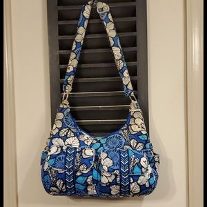Vera Bradley Large Crossbody in Blue Bayou